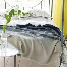 Designers Guild : Padua Noir blanket