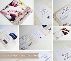 #weddinginvitations  www.secretdiary.co.za