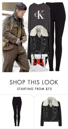 """Set of Dunkirk with Harry"" by valentinacard ❤ liked on Polyvore featuring Topshop, Calvin Klein Jeans, Acne Studios and NIKE"