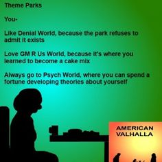 Ever wonder what the real attractions of theme parks are?