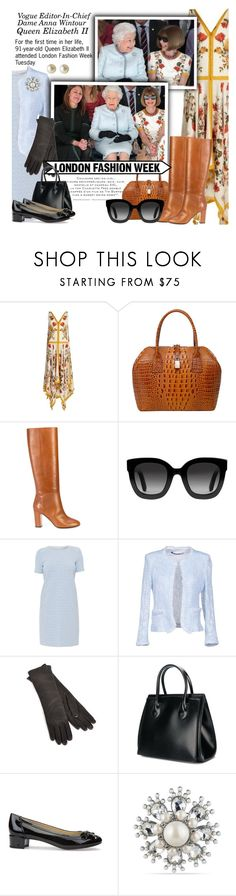 """Fashion Royal meets British Royal"" by dixiebelle81 ❤ liked on Polyvore featuring Alexander McQueen, Vicenzo Leather, Aquazzura, Gucci, Amina Rubinacci, New York Industrie, Samuji, Balmain, Geox and Carolee"
