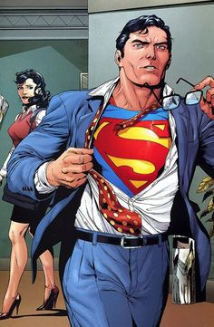 Superman & Lois Lane: Always portrayed as inseparable.
