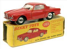 Dinky Toys Alfa Romeo super sprint 1:43 scale