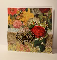 Craft Consortium - Gypsy Gypsy Someone Special Card by StickerKitten #craftconsortium