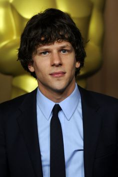Jesse Eisenberg. I find him so attractive