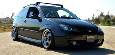 Ford Focus mk1 Big rims, Black colour