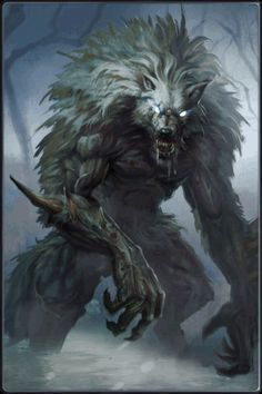 Here another example a monster made out of different animals this is a werewolf this is made out of a human and a wolf Fantasy Monster, Monster Art, Mythological Creatures, Mythical Creatures, Dark Fantasy, Fantasy Rpg, Super Mario Rpg, Beast, Werewolf Art