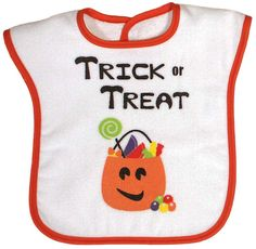 Great bib for up to a 3 year old! Who needs a costume? 100% cotton velour terry. Made in USA. $14.00