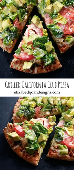 Grilled California Club Pizza Pin
