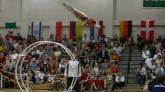 WC 2013  in Wheel Gymnastics Junior woman Finale vault  Kira Homeyer 1st...