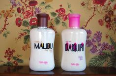 Body Lotion  - Daiquiri Uva  -Malibu Vainilla