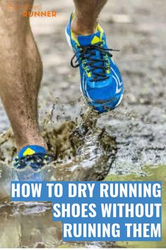 "Whether it's rainy the day of your can't-miss long run, or you were very ""lucky"" enough to get caught in a sudden downpour during a late-summer easy run, or your latest trail run featured a creek crossing, wet shoes are part of your life as a runner. What you don't want is for your shoes to stay wet. Especially when you have your next workout to complete."