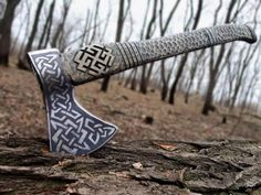 We are the world's best online Viking jewelry and Apparel seller. Our goal is to provide YOU with the best viking merch products possible. We will satisfy all your Viking Merch needs. Vikings Tumblr, Tomahawk Axe, Viking Axe, Beil, Battle Axe, Viking Battle, Fantasy Weapons, Knives And Swords, Blacksmithing