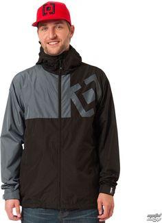 Horsefeathers bunda pánská jarně podzimní Fuse Black Rain Jacket, Windbreaker, Jackets, Black, Fashion, Down Jackets, Moda, Black People, Fashion Styles