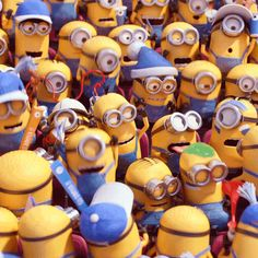 Let's hear it for the #Minions!   Minions Movie   In Theaters July 10th