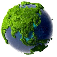 Earth is greener today than it was 20 years ago ‹ THN Lush Green, Green Grass, Green Leaves, 20 Years, Trees To Plant, Earth, 3d Illustrations, Life Science, Showroom