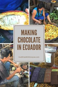 I've always loved eating chocolate, but never knew how much work goes in to creating the chocolate bars that I so frequently purchase. Here's how I learned to make chocolate in Ecuador.