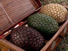 Dragon Eggs with box. Daenerys Targaryen . Game of Thrones.