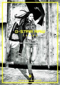 G-Star Raw, Fall/Winter 2015 - Ad Campaign