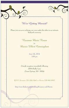 """Did you know Vistaprint has Horizontal Flat Invitations - 6""""x9""""? Check mine out! Create anything from Business cards to birthday party invites at Vistaprint.com."""