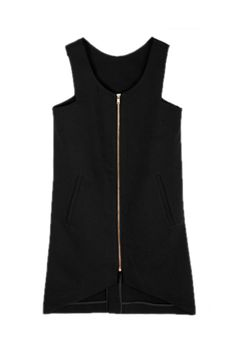 a zipper can complete an outfit easily