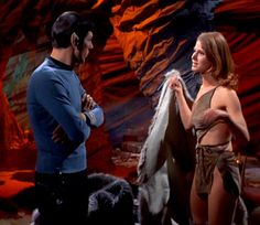 Always loved this :) Spock and Zarabeth in All Our Yesterdays Star Trek TOS Star Wars, Star Trek Tos, Spock, Mariette Hartley, Star Trek Convention, Star Trek Episodes, Star Trek 1966, Star Trek Original Series, The Daily Beast