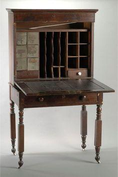 Edgar Allan Poe's desk