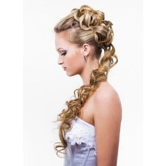 Popular 2012 Hairstyles For Brides The Latest Wedding Hairstyles ❤ liked on Polyvore