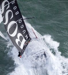 Hugo boss get wet and wild in EXtreme sailing
