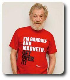Ian McKellen : ben, il est juste magnifique. Pas grand chose d'autre à dire.