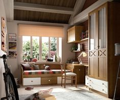 Dormitorios juveniles | Muebles Lara #decoracionhabitacionjuveniles