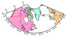 Interpolate between waypoints on regular data grid - MATLAB mapprofile