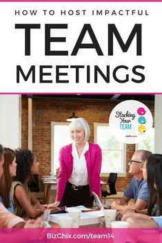 Team meetings--every company has them, but they don't always have to be a chore and a waste of time. In this episode, Shelli tackles how to improve team meeting efficiencies, because there is definite value in bringing your team members together! Team Meeting Agenda, Business Meeting, Business Tips, Online Business, Meeting Games, Work Meeting, Meet The Team, A Team, Effective Meetings