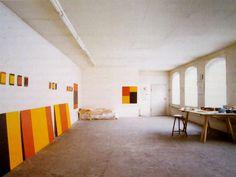 Blinky Palermo's room, 1977