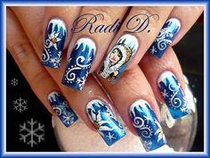 Winter Nail Art Desing