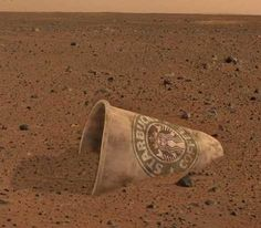 Image #3 from Curiosity on Mars. WOW! They really are EVERYWHERE!