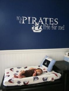 Nautical Nursery...It's a pirate's life