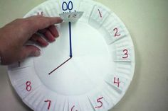 assiette-papier-horloge