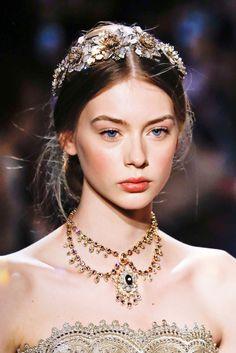 runwayandbeauty: Lauren de Graaf - Marchesa Fall...