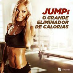 Os exercícios no trampolim fazem sucesso entre as mulheres! Ele ajuda a perder peso rapidinho, além de ser muito divertido.  Você costuma praticar jump?