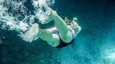 Cómo calentar antes de nadar (II)