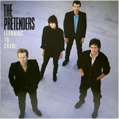 80's Vinyl Record The Pretenders  Learning To Crawl Alternative Rock Band New Wave Eighties