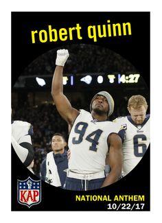 Robert Quinn NFL national anthem protest Week 7  ImWithKap. Aaron Brodkin · Colin  Kaepernick Fan Art 1132bbbe4
