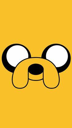 Adventure Time - Jake iPhone 5C / 5S wallpaper