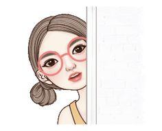 Cartoon Jokes, Line Sticker, Animated Cartoons, Gifs, Stickers, Yuri, Image, Health, Feelings