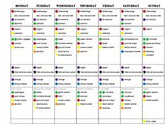 Round 2, Week 2 - 21 Day Fix Challenge Pack, 21 Day Fix, Portion Control, Clean…