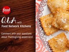 Join a series of #ThanksgivingFeast Facebook chats with Food Network Kitchens all month long.