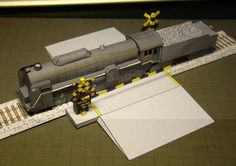 Steam Locomotive Tsubame Paper Model - by West Railway Japan - == -  This very well done paper model of the Steam Locomotive Tsubame T-62, came from West Railway Japan website and the model you see in the photo above was assembled by Dutch designer and modeler Michael, aka Nekio15. You will find a lot of paper models of locomotives, trains and acessories on this Japanese site.