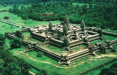 The city of Angkor, cambodia