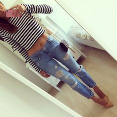 Fashion, Style! Chic Outfit!